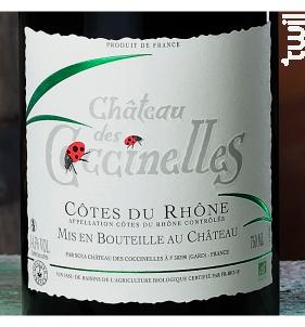 Château Des Coccinelles - Château des Coccinelles - 2019 - Rouge