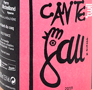 Cante Gau Solera - Domaine de la Réaltière - 2019 - Rosé