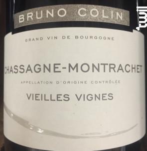 Chassagne-Montrachet Vieilles Vignes - Domaine Bruno Colin - 2017 - Rouge
