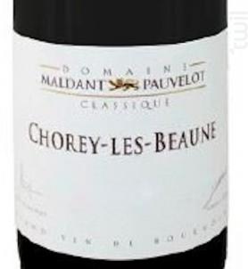 Chorey-lès-Beaune - Domaine Maldant - Pauvelot - 2018 - Blanc