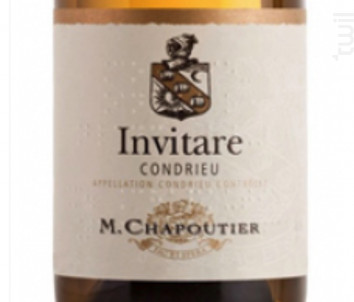 Invitare - Maison M. Chapoutier - 2018 - Blanc