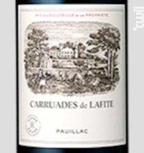 Carruades de Lafite - Domaines Barons de Rothschild - Château Lafite Rothschild - 2018 - Rouge
