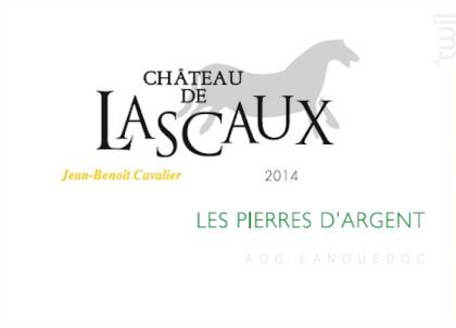 Les Pierres d'Argent - Château de Lascaux - 2014 - Blanc