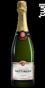 Brut Réserve - Champagne Taittinger - Non millésimé - Effervescent