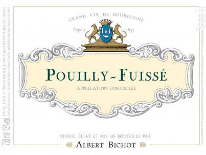 Pouilly-Fuissé - Albert Bichot - 2018 - Blanc