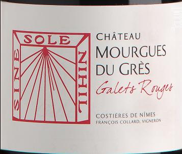 Galets Rouges - Château Mourgues du Grès - 2018 - Rouge