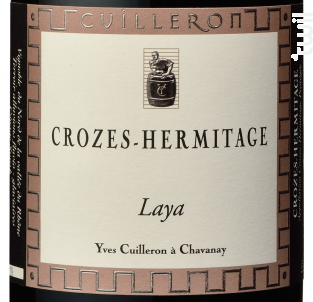 Laya - Cave Yves Cuilleron - 2014 - Rouge