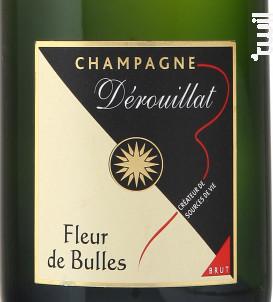 Fleur de Bulles - Demie Bouteille - Champagne Dérouillat - Non millésimé - Effervescent