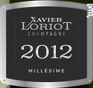 Millésime 2012 Brut - Champagne Xavier Loriot - 2012 - Effervescent