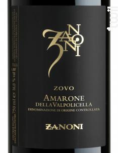 Zanoni Amarone - Zanoni - 2013 - Rouge