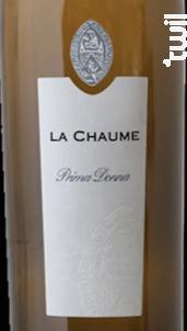 Prima Donna - Prieure La Chaume - 2015 - Blanc