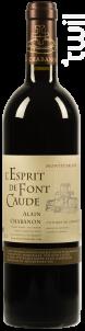 L'Esprit de Font Caude - Domaine Alain Chabanon - 2014 - Rouge