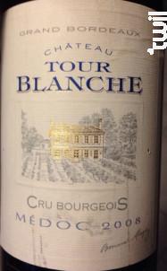 Château Tour Blanche - Château La Tour Blanche - 2005 - Rouge