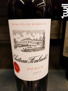 Château Fonbadet - Château Fonbadet - 2015 - Rouge