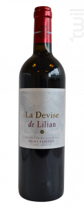 La Devise de Lilian - Château Lilian Ladouys - 2000 - Rouge