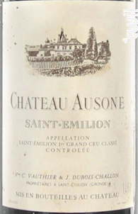 Château Ausone - Château Ausone - 1962 - Rouge