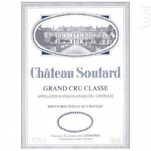 Château Soutard - Château Soutard - 2012 - Rouge