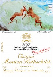 Château Mouton Rothschild - Château Mouton Rothschild - 2012 - Rouge