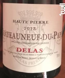 Haute Pierre - Maison Delas - 2014 - Rouge