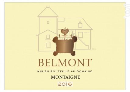 Montaigne - Domaine Belmont - 2016 - Blanc