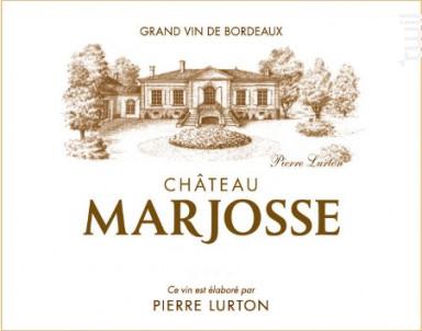 Château Marjosse - Château Marjosse - 2005 - Rouge