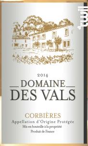 Domaine des Vals - Cellier des Demoiselles - 2018 - Blanc