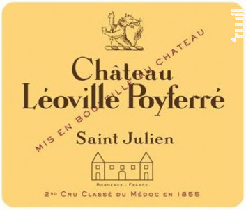 Château Léoville Poyferré - Château Léoville Poyferré - 2018 - Rouge