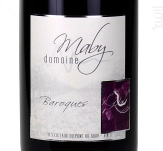 Baroques - Domaine Maby - 2018 - Rouge