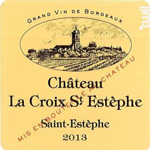 Château LA CROIX SAINT ESTEPHE - Château Le Crock - 2013 - Rouge
