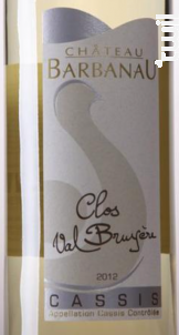 Clos Val Bruyère - Clos Val Bruyère - 2012 - Blanc
