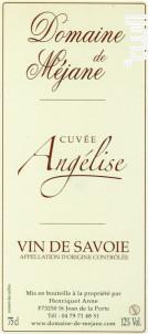 Cuvée Angélise - Domaine  de Méjane - 2018 - Rouge