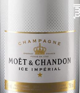 Ice Impérial - Moët & Chandon - Non millésimé - Effervescent