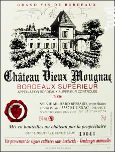 Château Vieux Mougnac - Château Vieux Mougnac - 2010 - Rouge