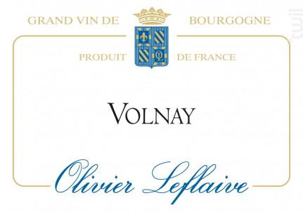 Volnay - Maison Olivier Leflaive - 2013 - Rouge