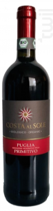 Costa Al Sole Primitivo BIO - Botter - 2015 - Rouge
