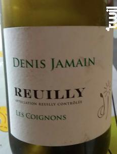 Reuilly Les Coignons - DENIS JAMAIN - 2018 - Blanc