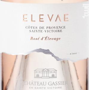 Elevae - Château Gassier - 2016 - Rosé