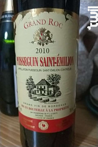 Puisseguin-Saint-Emilion - Grand Roc - 2008 - Rouge
