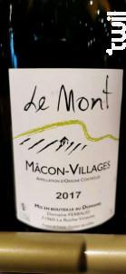 Le Mont - Domaine Perraud - 2017 - Blanc