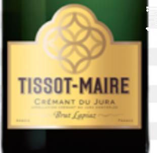 Crémant du Jura Lapiaz Brut - Tissot-Maire - Non millésimé - Effervescent