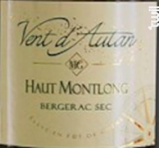 Vent d'Autan - Domaine Haut Montlong - 2017 - Blanc