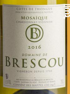 Mosaïque - Domaine de Brescou - 2016 - Blanc