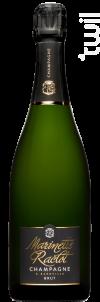 Brut Tradition - Champagne Marinette Raclot - Non millésimé - Effervescent