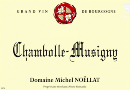 Chambolle-Musigny - Domaine Michel Noëllat - 2014 - Rouge