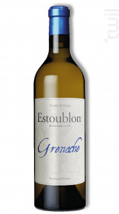 Grenache - Château d'Estoublon - 2015 - Blanc