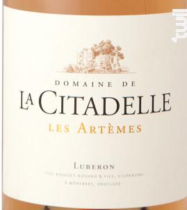 Les Artemes - Domaine de la Citadelle - 2019 - Rosé