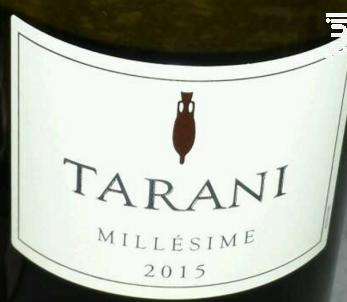 Tarani - Vinovalie Les Vignerons d'Ovalie - 2016 - Rouge