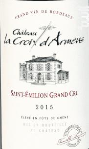 Château la Croix d'Armens - Château La Croix d'Armens - 2015 - Rouge