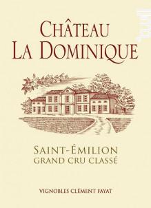 Château La Dominique - Château la Dominique - 2015 - Rouge