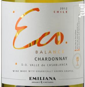 Eco balance – Chardonnay - Emiliana - 2017 - Blanc